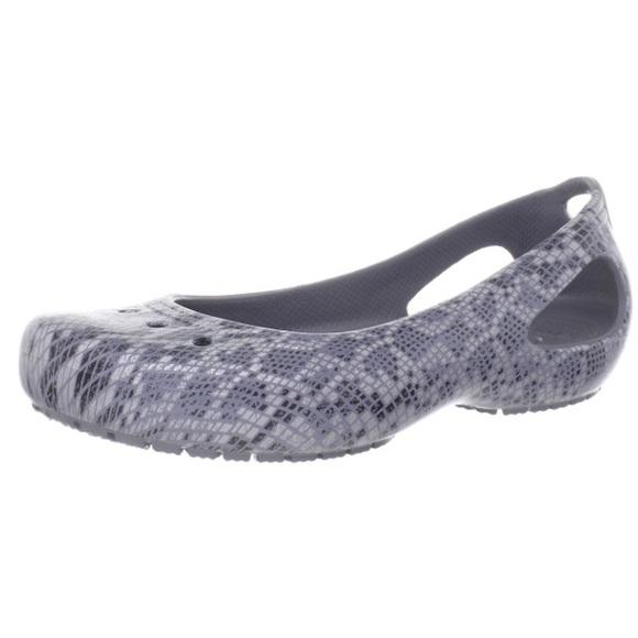 2e914a1bfea3f5 CROCS Shoes - Crocs Kadee snake print flats lightweight classic